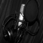 Звукозапись Вашего голоса и Ваших песен, Новосибирск