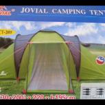продам палатку 6 местную на две семьи Новая не промыкает, Новосибирск