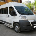 Заказ, Аренда микроавтобуса Pegeot Boxer Lux Class, Новосибирск