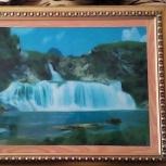 """Продам музыкальную картину """"Водопад"""", Новосибирск"""