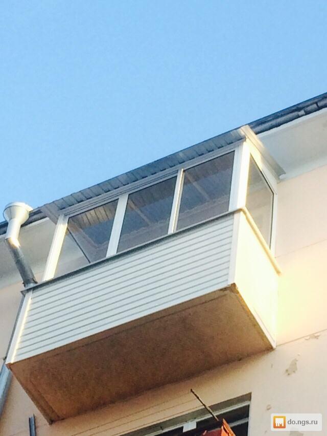 Остекление и отделка балконов. многолетний опыт работы! прои.