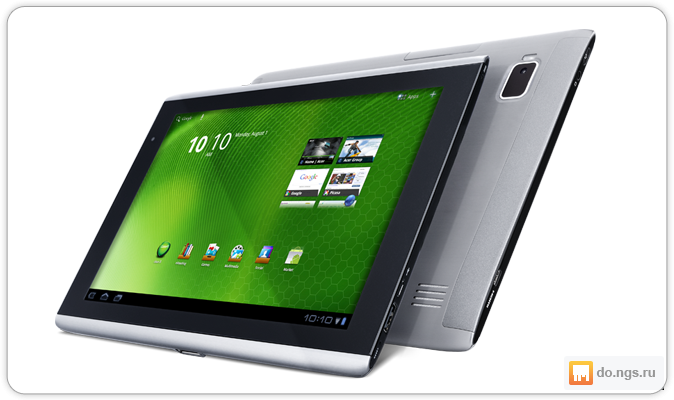 Планшет acer iconia tab a501 xeh6qen024 (nvidia tegra 250/1024mb/32gb/3g/wi-fi/bluetooth/cam/101/1280x800/android