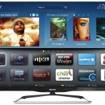 42'' (107см) Philips 42PFL6907T LED 3D Wi-Fi SMART 600Hz FHD DVB-T2, Новосибирск