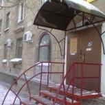 Козырёк для подъезда шт, Новосибирск