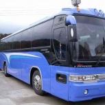 Заказ Автобуса 45-ти местного для туристических, экскурсионных поездок, Новосибирск
