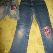 Джинсы + джинсовые шорты от 3-5 лет, Новосибирск