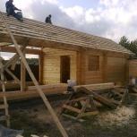 Строительство домов, бань из бруса. Кровельные работы, Новосибирск