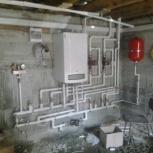 монтаж газовых котлов, электро котлов и  автономного отопления, Новосибирск