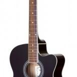 Акустическая гитара COLOMBO LF-3800/BK, цвет: черный, Новосибирск