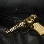 Ремень пистолет со сваровски, Новосибирск
