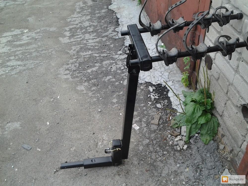 Крепление велосипедов на фаркоп своими руками