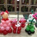 фигуры из шаров, Новосибирск
