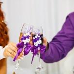 Свадебные бокалы, Новосибирск