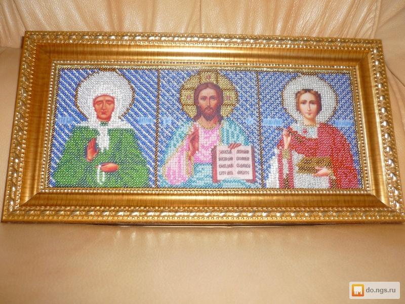 Иконы из бисера в подарок
