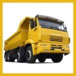 Доставка щебня, доставка песка, доставка чернозема от 5 до 15 тонн, Новосибирск