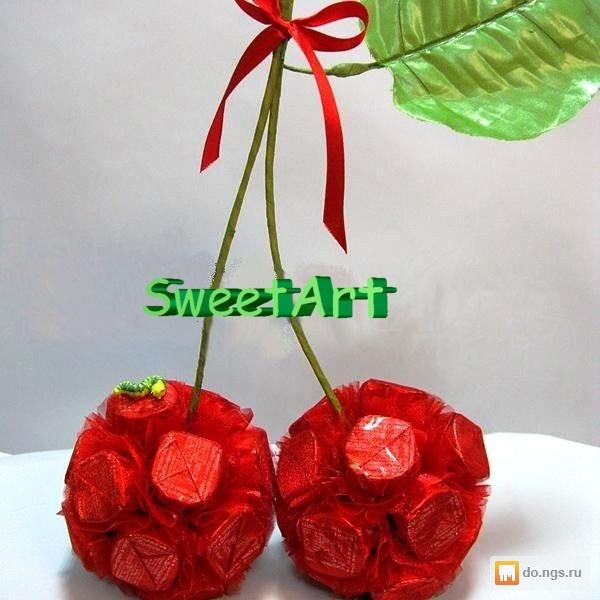 Подарок букет из конфет своими руками