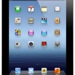 Apple iPad 3 32Gb Wi-Fi Cellular Black, Новосибирск