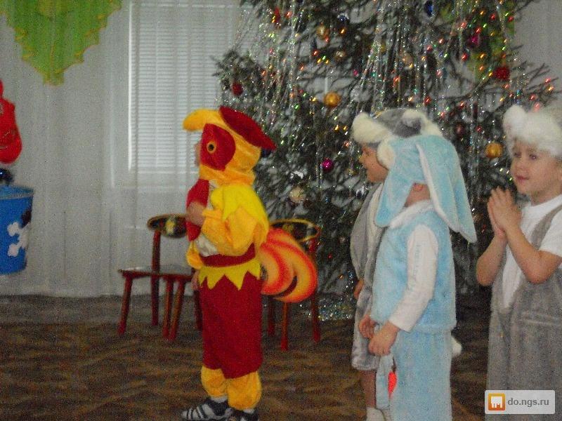 Новогодний костюм петушка для мальчика
