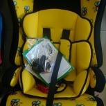 Автокресло детское с айгер-прайм (трансформер) гр1-2-3 (пчёлка)изофикс, Новосибирск