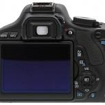 Фотоаппарат Canon EOS 600D Kit, Новосибирск