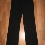 Продам брюки для беременной черного цвета, плотные для холодной погоды, Новосибирск