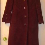 Продам драповое демисезонное пальто с капюшоном 44-46 р-р, Новосибирск