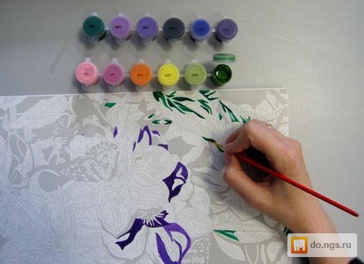 Картины нарисованные своими руками по цифрам