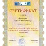 Долевое участие в строительстве. Юридическая помощь., Новосибирск