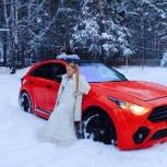 Прокат эксклюзивного Инфинити FX50S Renegade Edition, Новосибирск