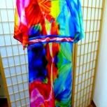 Платье. Шелк 100%, размер 44, Новосибирск