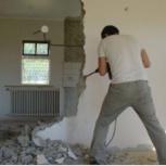 Слом стен, перегородок, снятие стяжки, кафеля, набелов. снос построек, Новосибирск