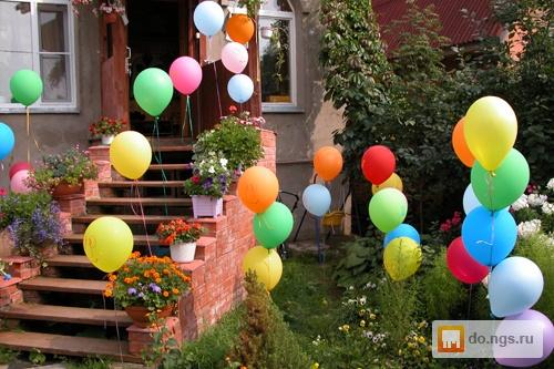 Украсить двор на день рождения ребенка своими руками 77