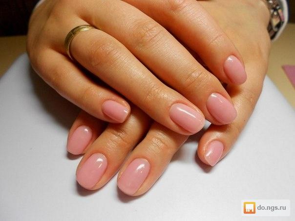 Покрытие ногтей гелевым