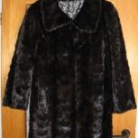 Продам женскую норковую шубу, черного цвета, Новосибирск