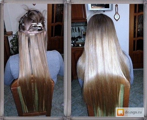 Как снять нарощенные волосы в домашних условиях ленточное