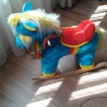 Продам детскую качалку - лошадка, Новосибирск
