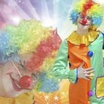 Аниматор Клоун на Детский Праздник. День Рождения, Новосибирск
