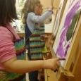 Художественная школа искусств обучает детей рисованию, Новосибирск
