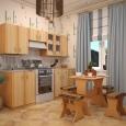 Кухонный гарнитур «Софтформинг» (Красноярская мебель) шт., Новосибирск