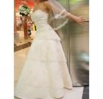 Свадебное платье шестиклинка кружево