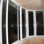 Закругленный балкон 1500х4000, Новосибирск