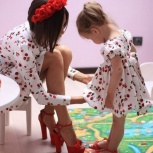 стильное платье для мамы и дочки, Новосибирск
