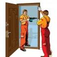 Установка межкомнатных дверей профессионально. Работаем без выходных, Новосибирск