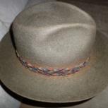 Шляпа мужская фетровая. Р-р 58, Новосибирск