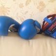 Боксерские перчатки и шлем. На парня 10-12 лет., Новосибирск