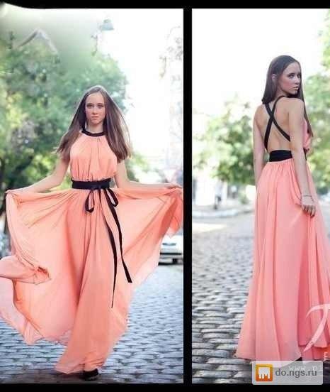 Платье с открытой спиной своими руками фото