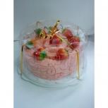 Большой торт из махровых полотенец 70*140 см, Новосибирск