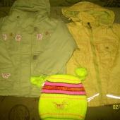 Куртки демисезонные на девочку от 2-4 лет, Новосибирск