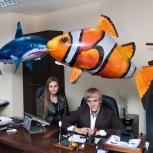 """летающие рыбы """"air swimmers"""" на радиоуправлении, Новосибирск"""