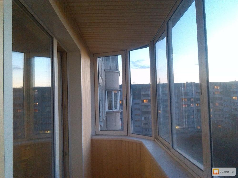 Остекление балконов и лоджий ,отделка. за 700р, новосибирск,.